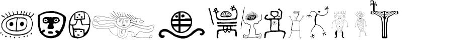 Preview image for Tepu-mereme Font