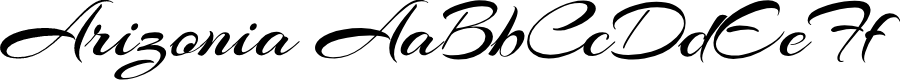 Preview image for Arizonia Font