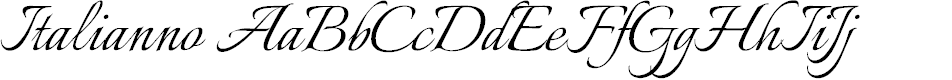 Preview image for Italianno Font