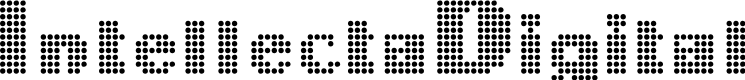 Preview image for IntellectaDigital Font