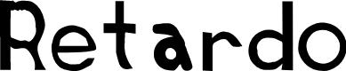 Preview image for Retardo Font