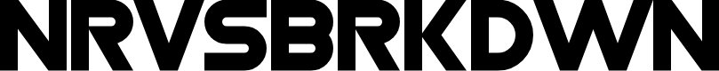 Preview image for Nrvsbrkdwn Font