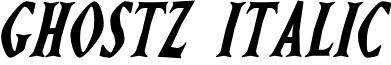 Ghostz Italic