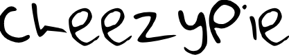 Preview image for CheezyPie Font