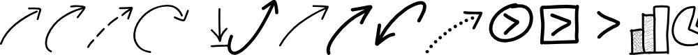 Preview image for PWNewArrows Font