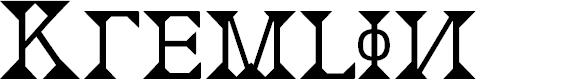 Preview image for Kremlin Font