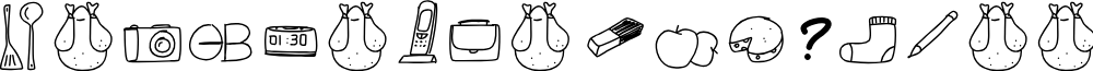 PeaxWebdesignFreeIcons font