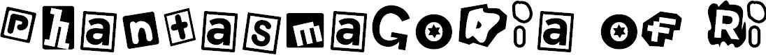 Preview image for Phantasmagoria of River City Font
