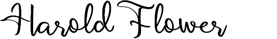 Preview image for Harold Flower Font