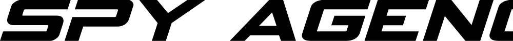 Preview image for Spy Agency Expanded Italic