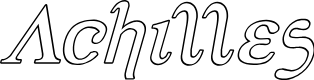 Preview image for Achilles Outline Italic