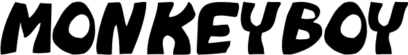 Preview image for Monkeyboy Font