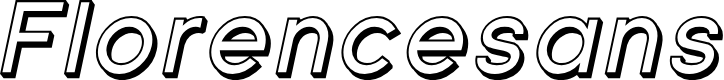 Preview image for Florencesans Shaded Italic