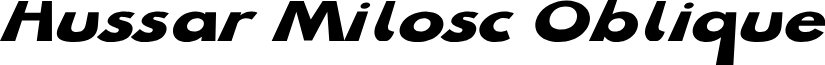 Hussar Milosc Oblique