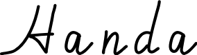 Preview image for Handa Font