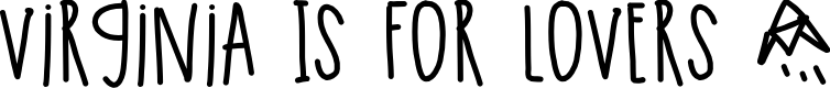Preview image for VirginiaIsForLovers Font