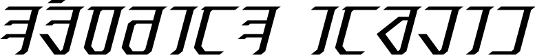 Preview image for Exodite Italic