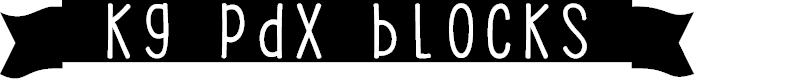 Preview image for KG PDX Blocks Font