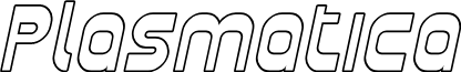 Plasmatica Outline Italic