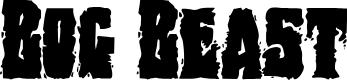 Preview image for Bog Beast Regular Font