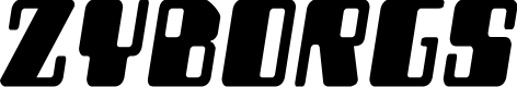 Preview image for Zyborgs Semi-Italic