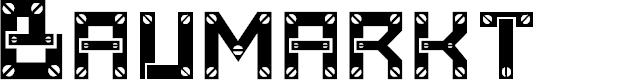 Preview image for Baumarkt Font