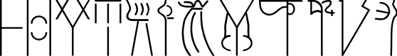 Preview image for Linear B Font