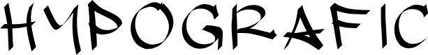 Preview image for hypografic Font