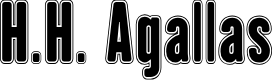 Preview image for H.H. Agallas Font