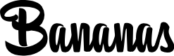 Preview image for BananasPersonalUse Font