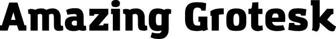 Preview image for Amazing Grotesk Ultra Font