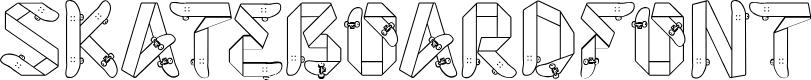 Preview image for Skateboardfont
