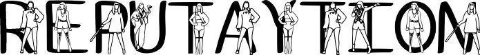 Preview image for Ks Reputaytion Regular Font