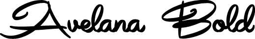 Preview image for Avelana Bold PERSONAL USE