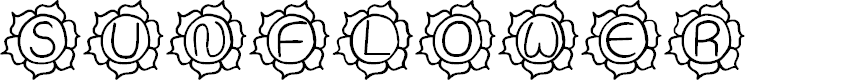 Preview image for JI Sunflower Font