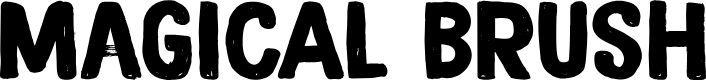 Preview image for DK Magical Brush Regular Font