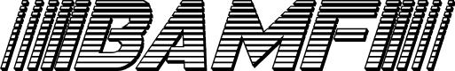 Preview image for Bamf Chrome Italic