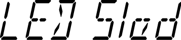 Preview image for LED Sled Condensed Italic