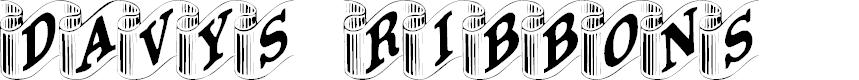 Preview image for DavysRibbons Font
