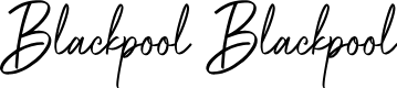 Preview image for Blackpool Blackpool Font