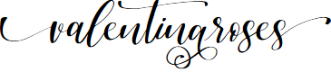 Preview image for valentinaroses Font