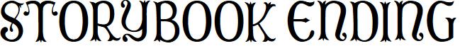Storybook Ending font
