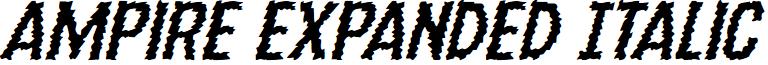 Ampire Expanded Italic