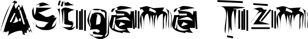 Preview image for Astigama Tizm Font