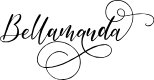 Preview image for Bellamanda Font