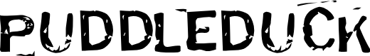 Preview image for Puddleduck Font