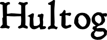 Preview image for Hultog Font