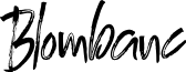 BlombancPersonalUse-Regular