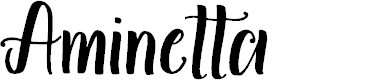 Preview image for Aminetta Font
