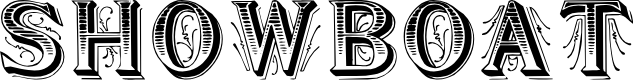 Preview image for Showboat Font